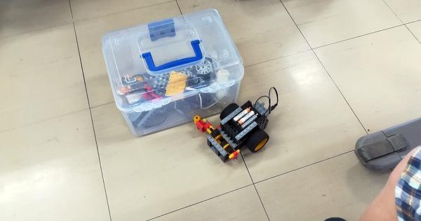 ヒューマンアカデミーで実際に作っているロボットの紹介